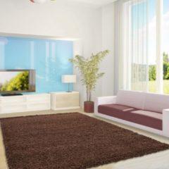 Life Hoogpolig Vloerkleed - Antalya - Rechthoek - Mokka - 240 x 340 cm - Vintage, Patchwork, Scandinavisch & meer stijlen vind je op WoonQ.nl