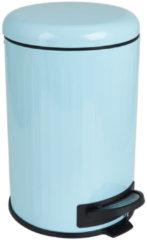 One in a Million Gifts Pedaalemmer - blauw - retro - 12 liter