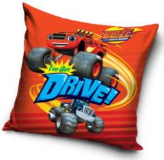 Nickelodeon Kussen Drive Jongens 40 Cm Polyester Rood