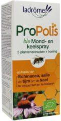 La Drome Ladrome Propolis keel- en mondspray bio 30 Milliliter