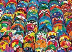 Eurogra Puzzel 1000 stukjes-Mexican Ceramic Plates