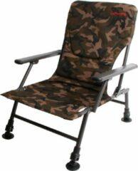 Ultimate Comfort Chair Camo Visstoel - Verstelbare poten - 46 x 54 x 40 cm - Camouflage