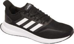 Adidas Performance Runfalcon hardloopschoenen zwart/wit