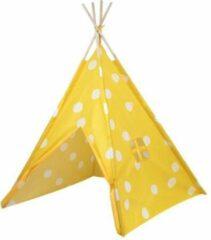 Tipi Tent kinderen wolken - Grijs - Wigwam - Playfun - 120 x 120 x 150 cm - Voordeelset