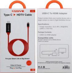 Rode Xssive HDMI naar USB-C 2M - Stevige kabel