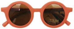Kinder Zonnebril | Mat Oranje | Vintage | UV400 | Fashion Favorite