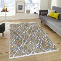 Nerge.be | Vintage Vloerkleed, Woonkamer, Slaapkamer en Eetkamer Tapijt | Model Geweven Onderlaag | 100x200 cm (K268)