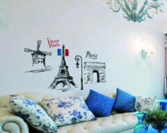 Muursticker Heeft u ook zo genoten van uw reisje naar Parijs? Deze stickers zullen u iedere dag weer even herinneren aan deze heerlijke tijd in de stad van de liefde, Paris!