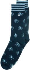 Alfredo Gonzales Octopus Casual Sok Donkerblauw/Lichtblauw