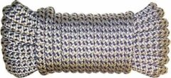 Marineblauwe U-Rope Hoge breeksterkte | Kraakt niet | Blijft soepel Wit / Navy, Afmeting: 16 mm x 15,0 meter