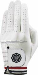 Witte HollyMeister - Golf - handschoen - cabretta leer - golfhandschoen