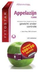 Fytostar Appelazijn Afslanker Maxi - 120 Tabletten - Voedingssupplement
