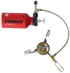 Grijze Primus OmniLite Ti Lichtgewicht kooktoestel voor kamperen