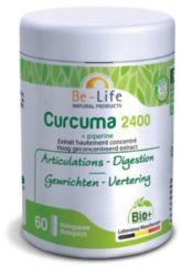 Be-Life Curcuma 2400 + piperine bio 60 Softgel