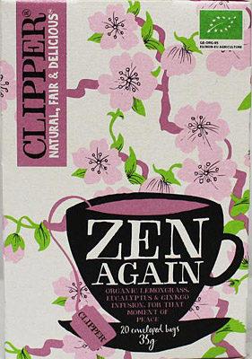 Afbeelding van Clipper Zen Again Bio (20st)
