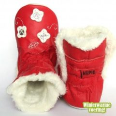 Aapie Winterboot Flower Red