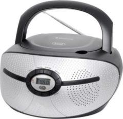 Trevi CMP 552 BT Stereo-Radio-CD-Player mit CD und Bluetooth - schwarz
