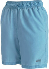 "Turquoise Zoggs Boys Mosman Washed 15"" Short - Zwemboxers"