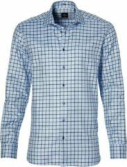 Jac Hensen Overhemd - Modern Fit - Blauw - 5XL Grote Maten