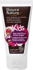 Douce Nature Kindertandpasta rood fruit 50 Milliliter