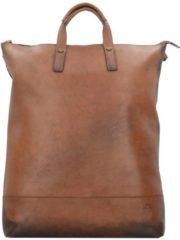Randers X-Change 3in1 Bag L Rucksack Leder 47 cm Laptopfach Jost cognac