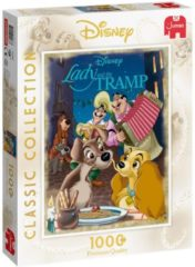 Jumbo Puzzel Disney Classic Collection Lady & The Tramp - Legpuzzel - 1000 stukjes