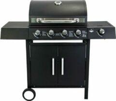 El Fuego San Angelo 4.1 Gasbarbecue - 5 Branders - Zwart