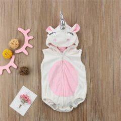 Roze Budino Baby Rompertje Maat 68