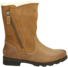 Bruine Sorel Emelie Fold-over Youth Emelie Fold Over snowboots camel