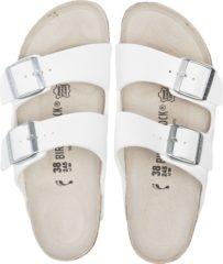 Teva Birkenstock Arizona - Slippers - Dames - Wit met witte zool - Maat 42