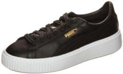 Puma - Wns Basket Platf Core - Sneaker für Damen / schwarz