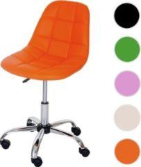 Heute-wohnen Drehstuhl HWC-A86, Bürostuhl Arbeitshocker, Schalensitz Kunstleder