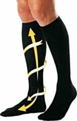 Miracle Socks Unisex Compressie Sokken – Zwart – 1 Paar – Maat 41-46