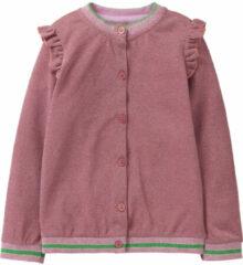 Oilily Roze vestje met lurex voor meisjes