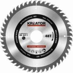 Kreator KRT020413 Zaagblad hout 170 mm - 48T
