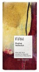 Vivani Chocolade melk praline 10 x 100g