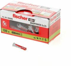 Fischer DUOPOWER 5 x 25 2-componenten plug 25 mm 5 mm 555005 100 stuk(s)