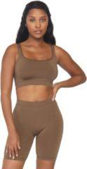 Leg Avenue Tanktop en shorts set -M/L- Seamless Bruin