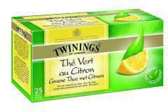 Twinings Groene thee citroen 25 Stuks