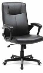 Zwarte Luxe bureaustoel met modern design