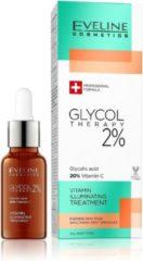 Eveline Anti-rimpel crème Glycol Therapy 2% Vitamin Illuminating Treatment 18 ml