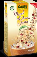GIULIANI SpA Giusto Muesli All'Avena E Frutta Senza Glutine 300g