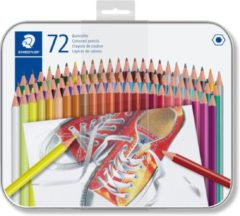 Staedtler - Coloured pencil hexagonal in metal boks, 72 pc (175 M72)