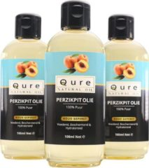 Qure Natural Oil Perzikpit Olie | 100% Puur & Onbewerkt (100ml) | Perzikpitolie voor Haar, Gezicht en Lichaam