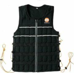 Zwarte Hyperwear Hyper Vest ELITE S - 15 lbs (7 kg)