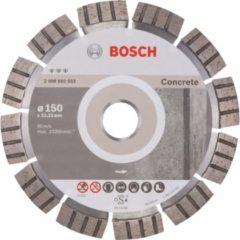 Bosch Ø 150mm Diamanttrennscheibe Best for Concrete