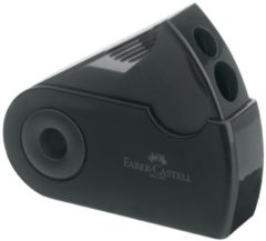 """Faber Castell Puntenslijper Faber-castell """"""""Sleeve"""""""" Zwart 2-gaats"""