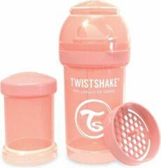 Roze Twistshake Babyfles Antikoliek 180Ml - Pastel Peach