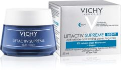 Vichy Liftactiv Supreme Nachtcrème - 50 ml - Anti-rimpel