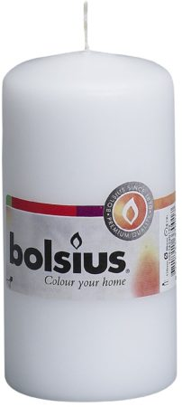Afbeelding van Witte Bolsius Stompkaars Stompkaars 120/60 Wit
